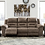Thumbnail: Stoneland - Fossil - Reclining Sofa (Order only)