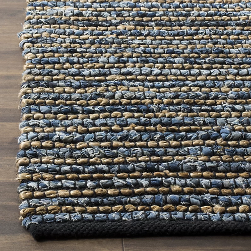 2' x 3' Abia Blue Area Rug