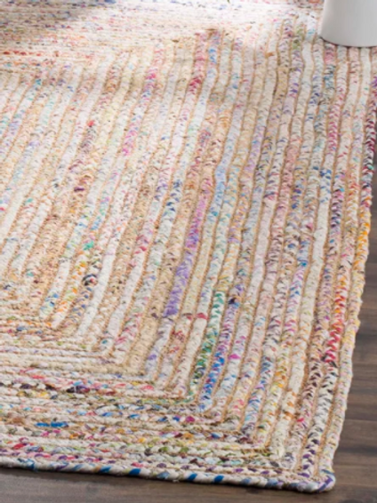 "2'3"" x 10' Francisco Hand-Woven Flatweave Cotton Multicolor Area Rug"