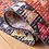 Thumbnail: 8' x 10' Briella Southwestern Red/Black/Orange Indoor / Outdoor Area Rug
