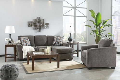 Brise - Slate - Sofa Chaise (Order Only)