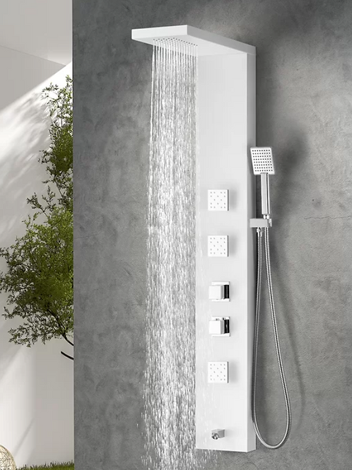 Delta Series Fixed Shower Head Shower Panel System