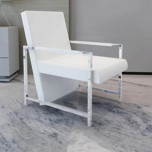 Abington Artificial Leather Cube Relax Armchair