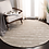 Thumbnail: Round 6'  Anmol Striped Hand-Tufted Wool Gray Area Rug