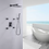 Thumbnail: Luxurious Pressure Balanced Complete Shower System with Rough-in Valve