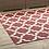 Thumbnail: Cerelia Moroccan Trellis 5x8 Indoor and Outdoor Area Rug in Red and Beige