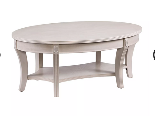 Lena Traditional Oval Cocktail Table