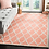 Thumbnail: 8' x 10' Wireman Hand-Tufted Wool Coral Area Rug