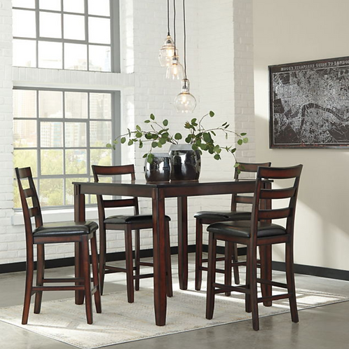 Coviar Counter Table Set (5/CN)