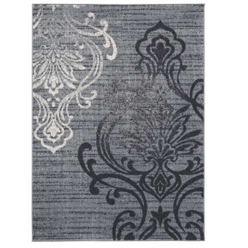 Verrill - Gray/Black - Large Rug 8x10
