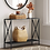 Thumbnail: Elroy X Sided Console Table Black