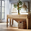 Thumbnail: Herriman Wooden Console Table with Drawers Natural
