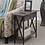 Thumbnail: Tucson Flip Top End Table with Charging Station Weathered Gray