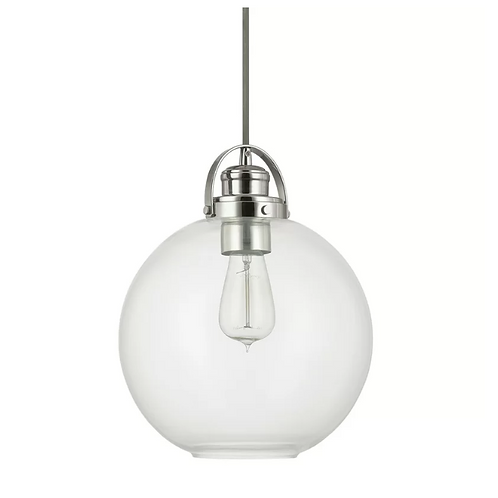 Betsy 1-Light Single Globe Pendant