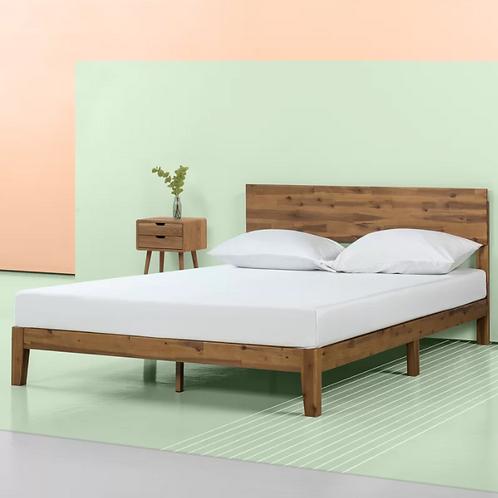 Tara Low Profile Platform Bed -KING