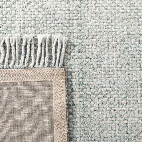 4' x 6' Amalie Handwoven Flatweave Wool Sage Area Rug