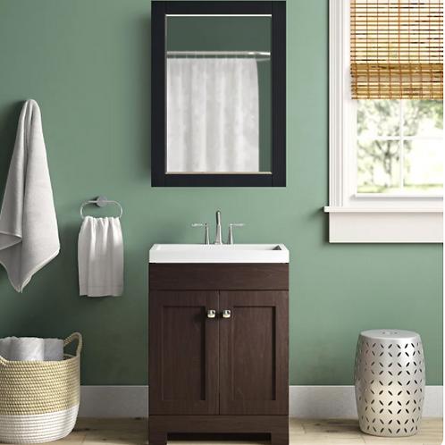"(See Note) Poche 25"" Single Bathroom Vanity Set"