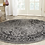 Thumbnail: Round 10' Howser Gray/Black Area Rug