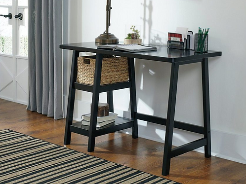 Mirimyn - Black - Home Office Small Desk