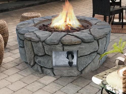 Erandekar Stone Propane Fire Pit