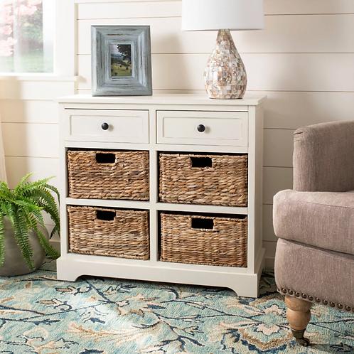 Bailey Storage Cabinet - White - Safavieh
