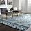 Thumbnail: 5' x 8' Flemington Vintage Lattice Blue IndoorOutdoor Area Rug