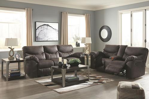 (For Order only) Boxberg - Teak - Reclining Sofa