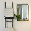 Thumbnail: Peetz Accent Mirror with Shelves