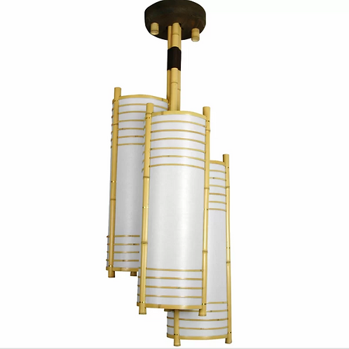 Diane 3-Light Unique / Statement Geometric Chandelier