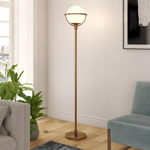 """Pascale 69"""" Torchiere Floor Lamp"""