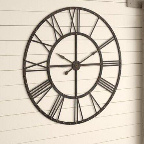 "Oversized Upton 45.75"" Wall Clock"