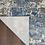 Thumbnail: 9' x 12' Brantner Abstract Blue/Gray/Cream Area Rug