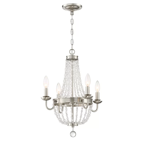 Dujardin 4 - Light Candle Style Empire Chandelier