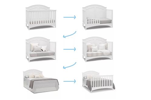 Delta Children Perry 6-in-1 Convertible Crib