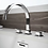 Thumbnail: Mincio Double Handle Deck Mount Roman Tub Faucet Trim