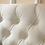 Thumbnail: Queen/Full Jezebel Button Tufted Headboard Ivory White
