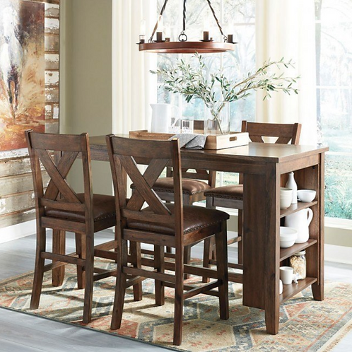 Chaleny 5 pc Counter Ht Dining Set