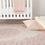 "Thumbnail: 7'6"" x 9'6"" Devin Oriental Pink/White Area Rug"