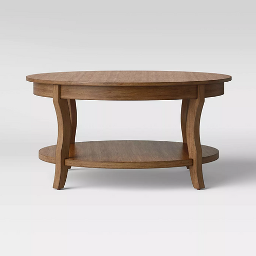 Shelburne Round Coffee Table Natural