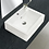 "Thumbnail: Ceramic 20"" Wall-Mount Bathroom Sink with Overflow"