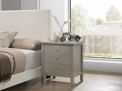 Sonja 3 - Drawer Nightstand