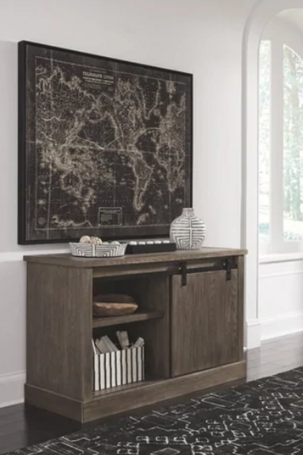 Luxenford - Grayish Brown - Large Credenza
