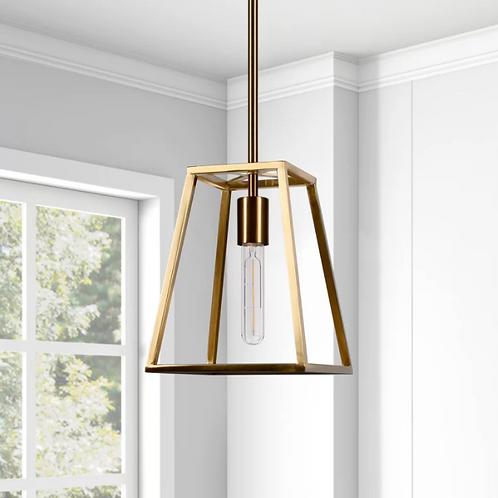 Golsby 1 - Light Lantern Geometric Pendant