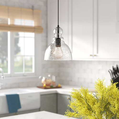 Cambell 1 - Light Single Bell Pendant