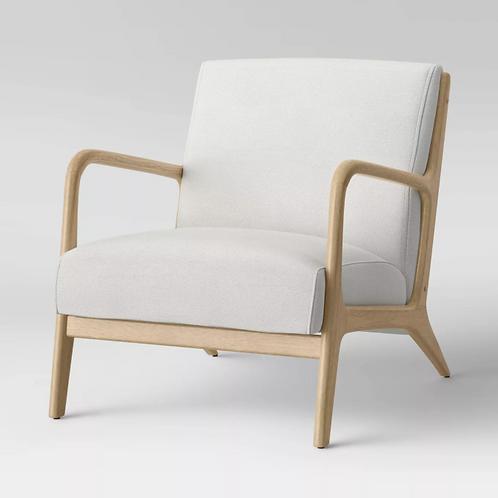 Esters Wood Armchair cream