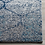 "Thumbnail: 2'3"" x 4' Katie Damask Navy Blue/Silver Rug"