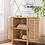 Thumbnail: Portola Hills Caned Door Console with Shelves Natural