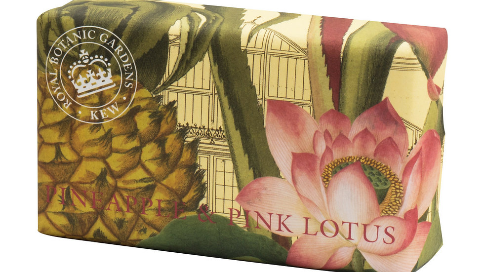 Pineapple and Pink Lotus