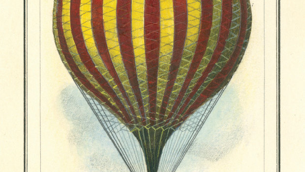 Vauxhall Balloon Greeting Card