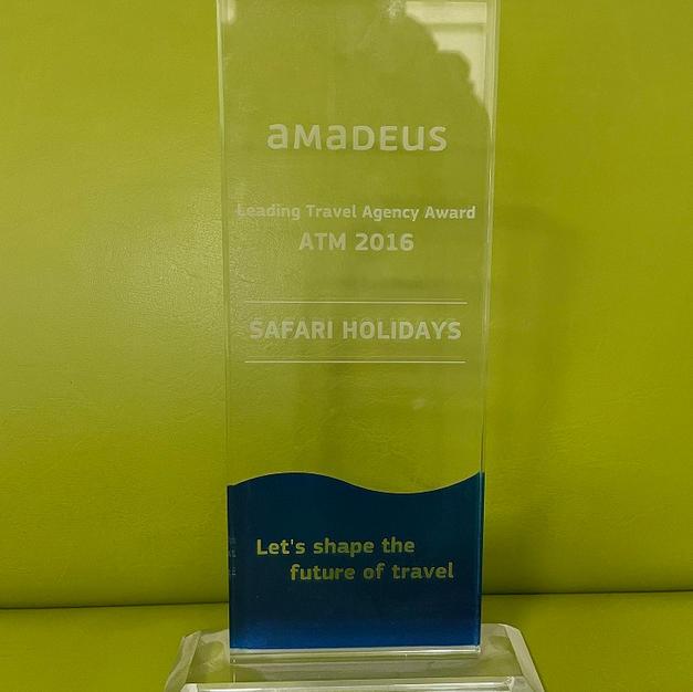 Amadeus Top Selling Award 2016